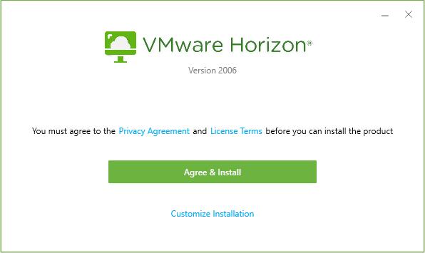 VMware Client Installation