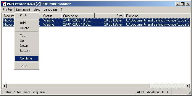 PDF creator 3