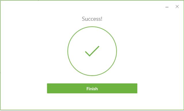 VMware Finished Installation